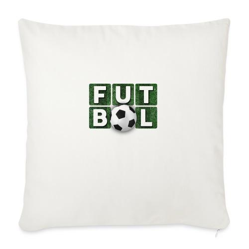 Futbol - Cojín de sofá con relleno 44 x 44 cm