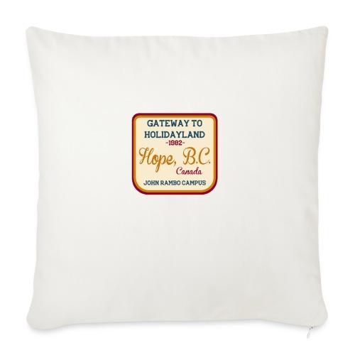 Rambo Hope Holidayland - Poduszka na kanapę z wkładem 44 x 44 cm