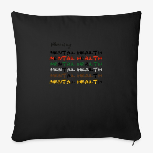 Where is my...? - Sofa pillow with filling 45cm x 45cm