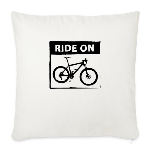 Ride On MTB 1 Color - Sofakissen mit Füllung 44 x 44 cm
