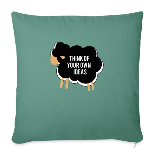 Think of your own idea! - Sofa pillow with filling 45cm x 45cm