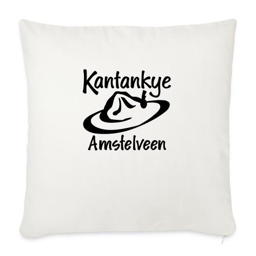 logo naam hoed amstelveen - Bankkussen met vulling 44 x 44 cm