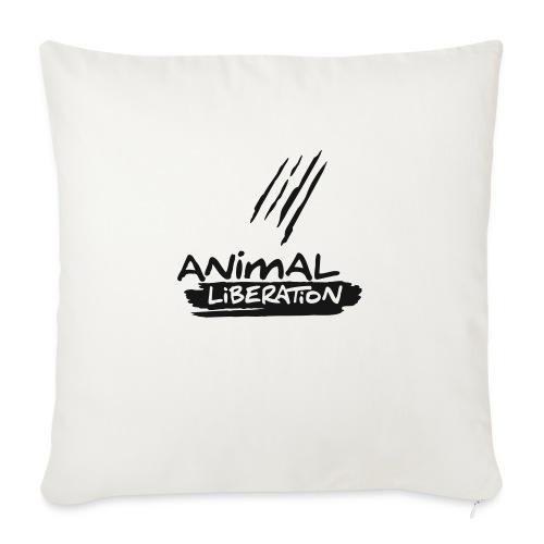 animalliberation01o_225x225 - Sofakissen mit Füllung 44 x 44 cm