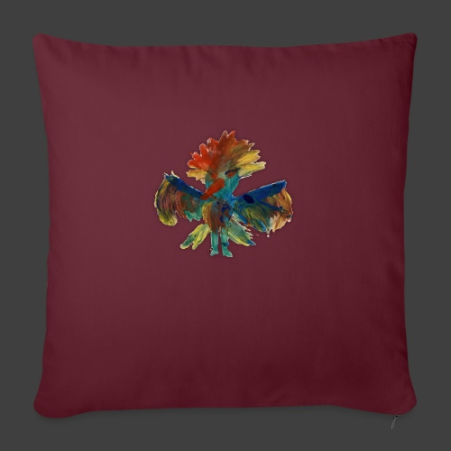 Mayas bird - Sofa pillow with filling 45cm x 45cm