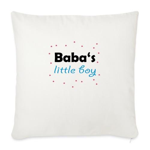 Baba's litte boy Babybody - Sofakissen mit Füllung 44 x 44 cm