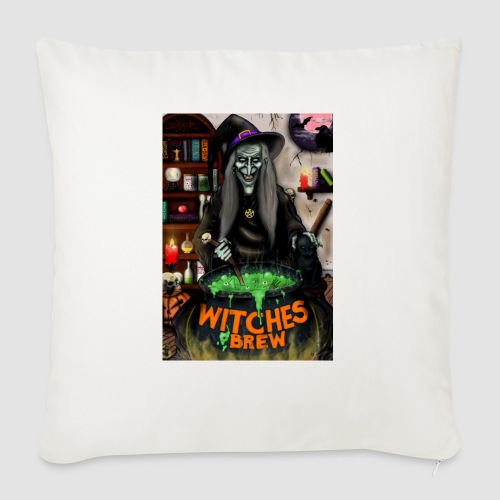 The Witch - Sofa pillow with filling 45cm x 45cm