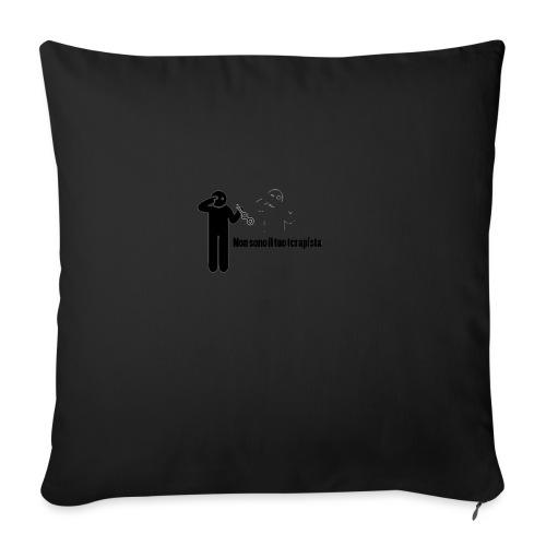 Terapista - Cuscino da divano 44 x 44 cm con riempimento