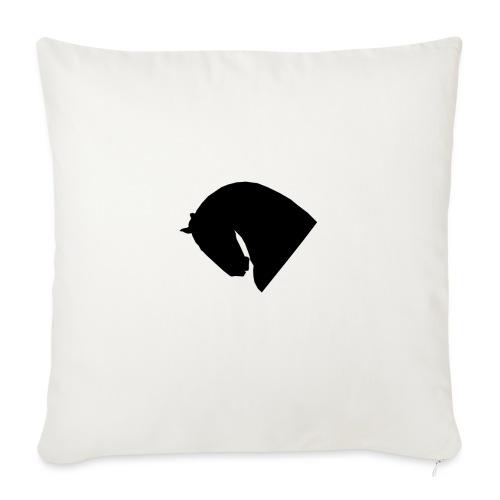 Cavallo - Cuscino da divano 44 x 44 cm con riempimento