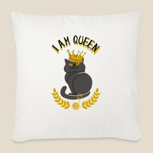 I am Queen - Coussin et housse de 45 x 45 cm