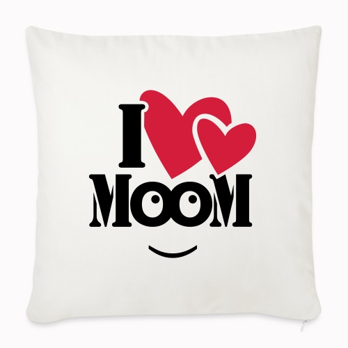 ilovemoom - Cuscino da divano 44 x 44 cm con riempimento
