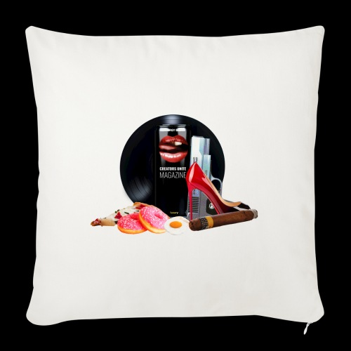 Luxury Energy Drink [Cyber Glam Collection] - Sofa pillow with filling 45cm x 45cm