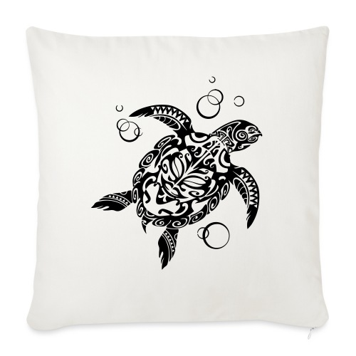 Watchful Turtle - Sofa pillow with filling 45cm x 45cm