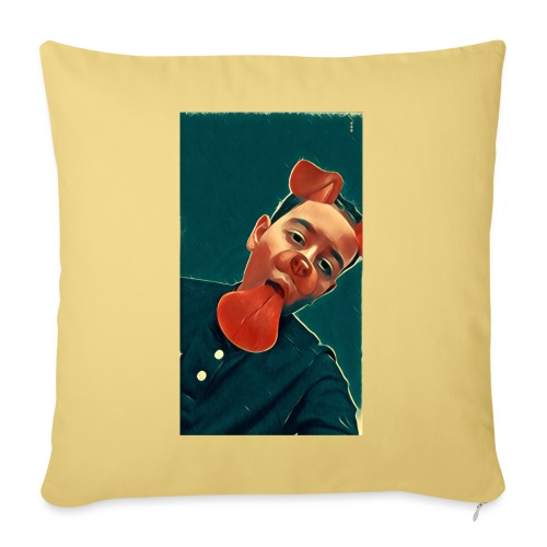 More MK21's Merch - Sofa pillow with filling 45cm x 45cm