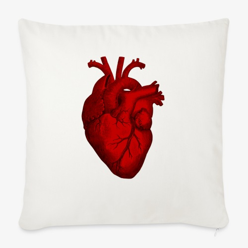 Heart - Sofa pillow with filling 45cm x 45cm