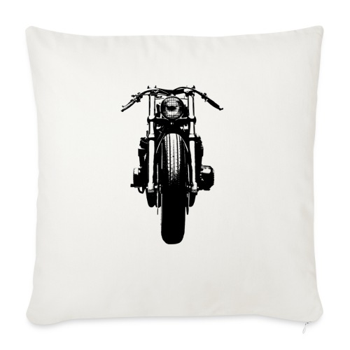 Motorcycle Front - Sofa pillow with filling 45cm x 45cm