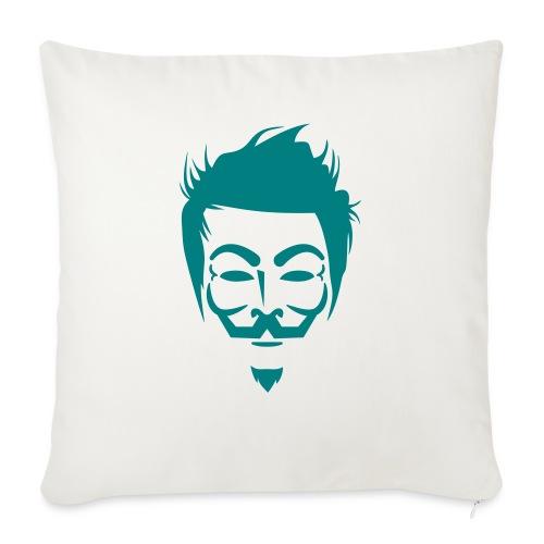 Anonymous Hipster - Coussin et housse de 45 x 45 cm