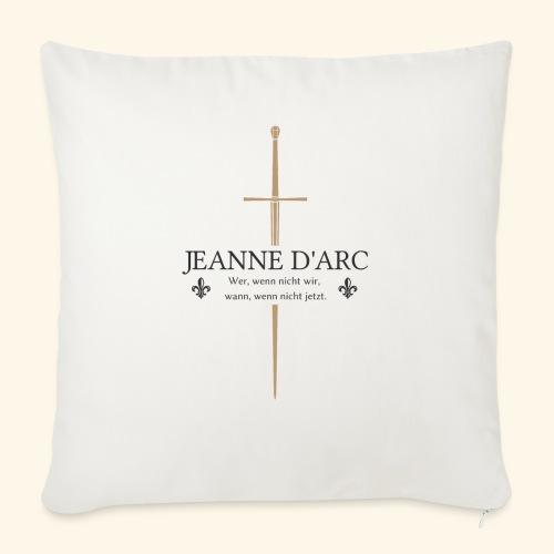 Jeanne d arc dark - Sofakissen mit Füllung 44 x 44 cm