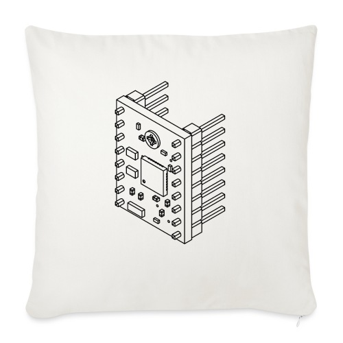 A4988 (no text). - Sofa pillow with filling 45cm x 45cm