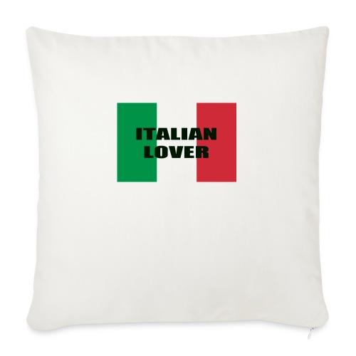 ITALIAN LOVER - Cuscino da divano 44 x 44 cm con riempimento