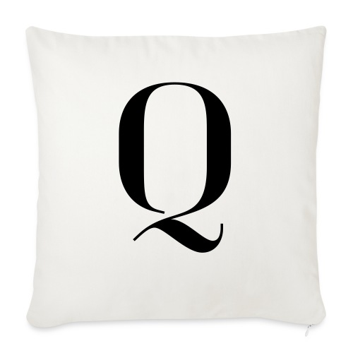 Q - Sofa pillow with filling 45cm x 45cm