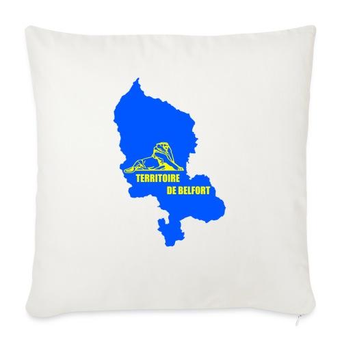 Territoire de Belfort + Lion PNG - Coussin et housse de 45 x 45 cm