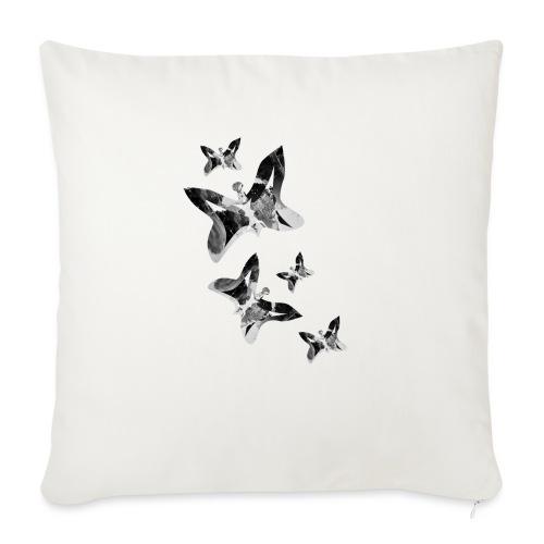 Schmetterlinge - Sofakissen mit Füllung 44 x 44 cm