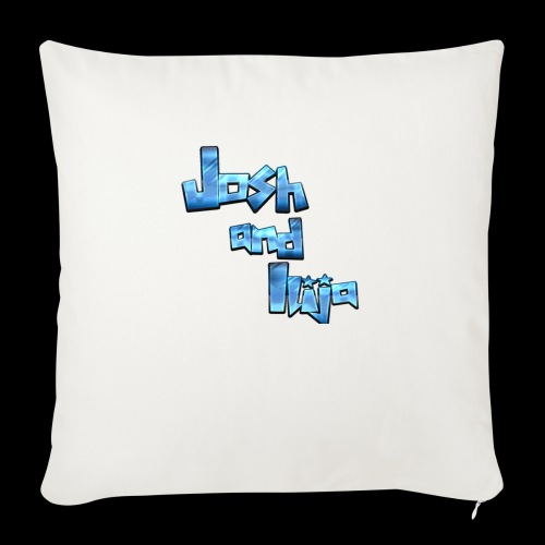 Josh and Ilija - Sofa pillow with filling 45cm x 45cm