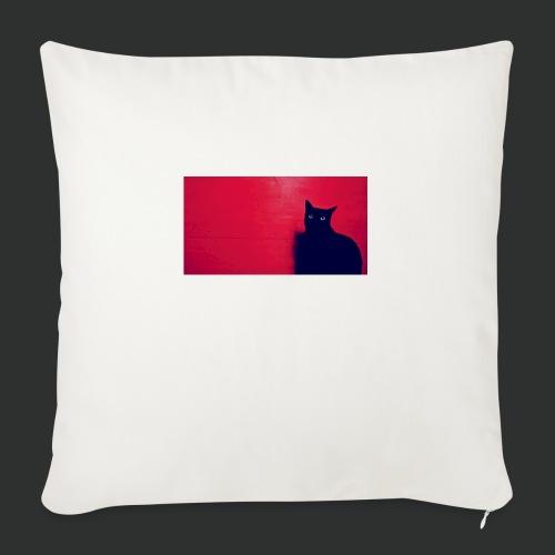 Blackcat - Cuscino da divano 44 x 44 cm con riempimento