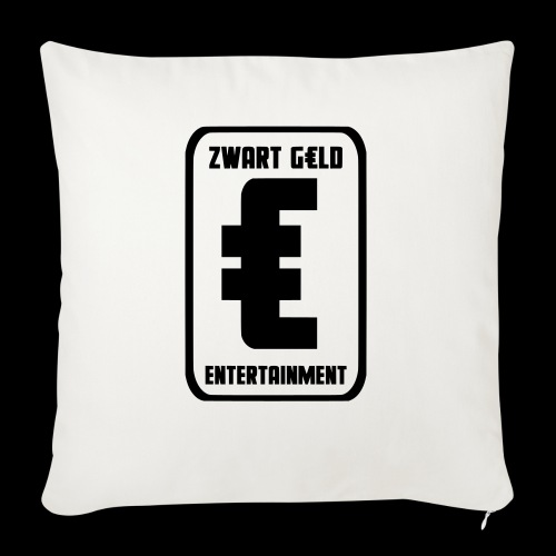 ZwartGeld Logo Sweater - Bankkussen met vulling 44 x 44 cm
