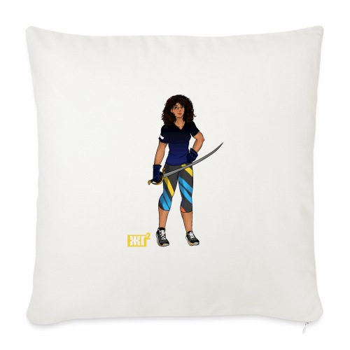 Sabre fencer - Sofa pillow with filling 45cm x 45cm