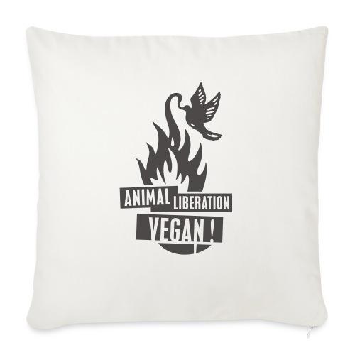 veganrevolution01_200x300 - Sofakissen mit Füllung 44 x 44 cm