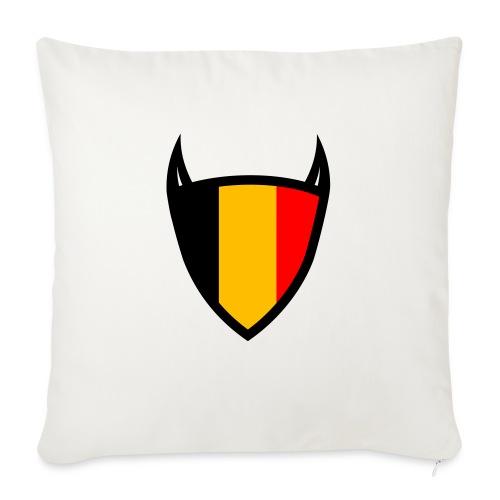 Diable du bouclier national belge - Coussin et housse de 45 x 45 cm