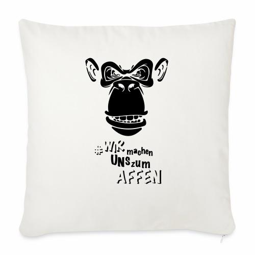 Angry Monkey - Sofakissen mit Füllung 44 x 44 cm