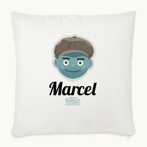 Marcel (Le monde des Pawns) - Coussin et housse de 45 x 45 cm