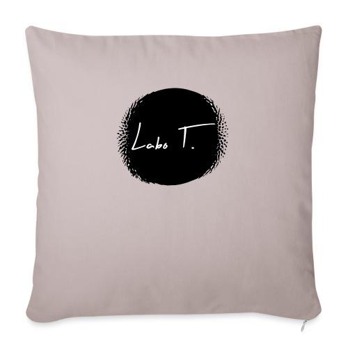 Logo Labo T. - Coussin et housse de 45 x 45 cm