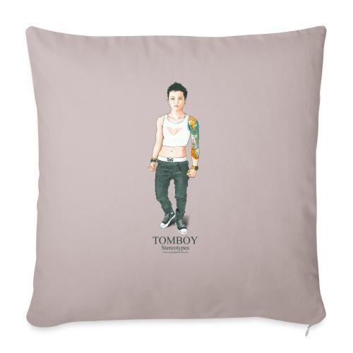 Tomboy. Stereotypes Collection. - Cojín de sofá con relleno 44 x 44 cm