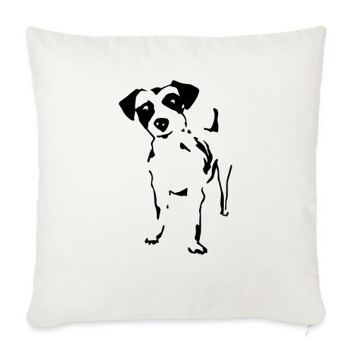 Jack Russell Terrier - Sofakissen mit Füllung 44 x 44 cm