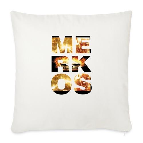 MERKOS FIRE DESIGN - Cojín de sofá con relleno 44 x 44 cm