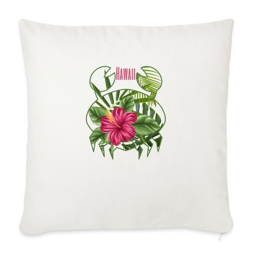 Granchio hawaiano - Cuscino da divano 44 x 44 cm con riempimento
