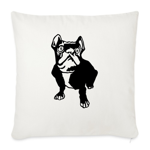 french bulldogge - Sofakissen mit Füllung 44 x 44 cm