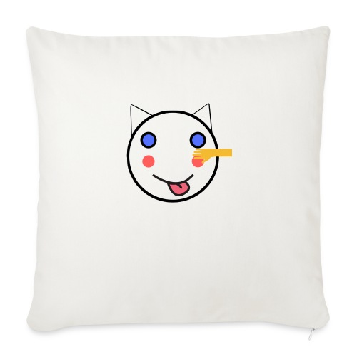 Alf Cat With Friend | Alf Da Cat - Sofa pillow with filling 45cm x 45cm