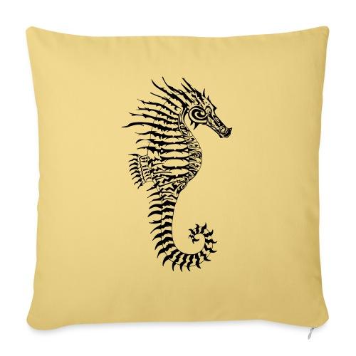 Alien Seahorse Invasion - Sofa pillow with filling 45cm x 45cm