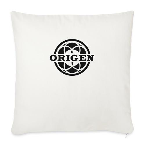 ORIGEN Café-Billar - Cojín de sofá con relleno 44 x 44 cm