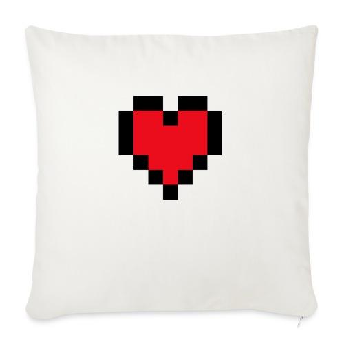 Pixel Heart - Bankkussen met vulling 44 x 44 cm