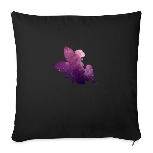 Purple fairy - Sofapute med fylling 44 x 44 cm