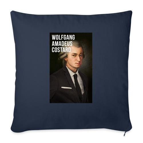 Wolfgang Amadeus Costard - Coussin et housse de 45 x 45 cm