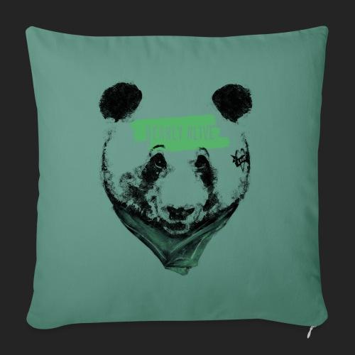 Panda bearly alive - Coussin et housse de 45 x 45 cm