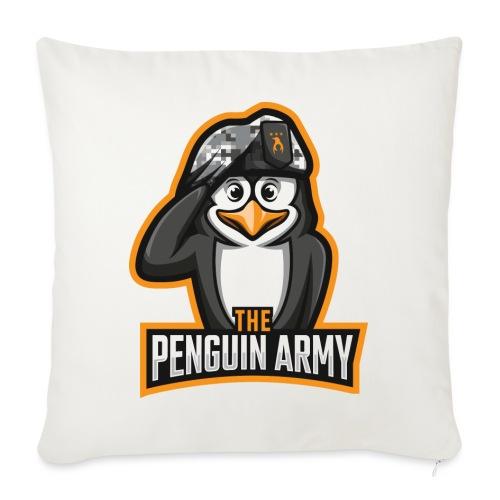 The Penguin Army Logo - Sofakissen mit Füllung 44 x 44 cm