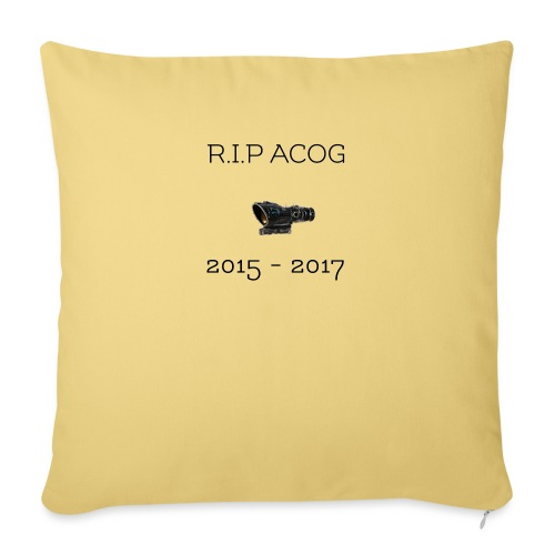 R.I.P ACOG 2015-2017 Collection - Sofa pillow with filling 45cm x 45cm