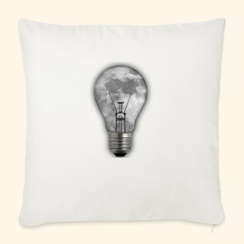 moon bulb - Cojín de sofá con relleno 44 x 44 cm